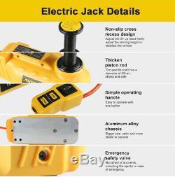 12v 5t Et 6t Électrique Universel Hydraulique Jack & Impact Gun Clé