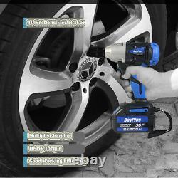 18v Cordless 1/2 Impact Wrench Cp400lihv Gun 2pcs 6ah Li-ion Chargeur De Batterie