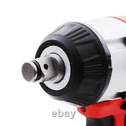 1/2 350nm 18v Twin Battery Sans Fil Impact Sans Brosse Wrench Ratchet Rattle Gun