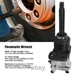 1 Drive Air Impact Wrench Gun 6800nm 1inch Drive Hammer Tool Grade Industriel