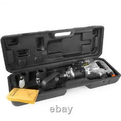 1 Pistolet D'impact Pneumatique Courte Sandale 38mm & 41mm Cas De Transport