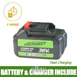 2 Outils 36vf 6000mah Batterie Électrique Outil À Percussion Sans Fil Électrique Clé À Percussion