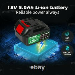 650nm 1/2 Cordless Brushless Impact Gun Driver 18v Avec 2 Batteries, Chargeur