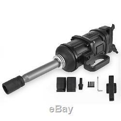 Air Impact Wrench Double Marteau Pneumatique Heavy Duty Gun 1 Disque 5800n. M 2 Socket