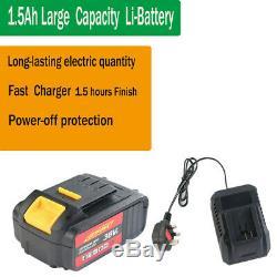 Batterie Au Lithium De Conducteur De Pistolet 21v De Clé À Moteur De Clé À Chocs Sans Fil 4 Prises