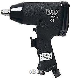 Bgs Allemagne 1 / 2dr Air Impact Key Driver Rattle Gun Set De Douilles 366nm 270ft / Lb