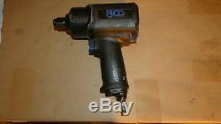 Bgs Allemagne Aaa Double Marteau 3/4 1/4 Entraînement D'air D'impact Conducteur Clé Rattle Gun