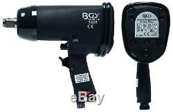 Bgs Germany 3/4 Drive Outils Pneumatiques Impact Clé À Canon Rotatif 880nm 650ft / Lb