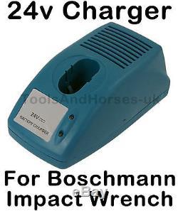 Chargeur De Batterie De Remplacement 24v Pour Pistolet À Clé À Impact Sans Fil Boschmann Ct0768