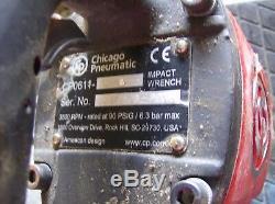 Chicago Pneumatic Clé À Chocs Gun-cp0611 D28h 1 Lecteur