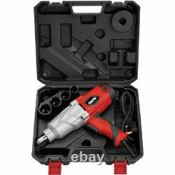 Clarke 3/4 Drive 710nm Impact Wrench Gun (230v) Avec 24-36mm Sockets & Case