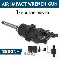 Clé À Chocs Air Double Marteau Pneumatique Heavy Duty Gun 1 Disque 2800n. M 2 Socket