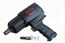 Clé À Chocs Pneumatique Industrielle Us Pro 3 / 4dr Pistolet B8521 De 880 Ft / Lb