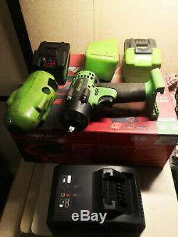 Clé À Fusil À Percussion 3/8 '' Cteu8810bg10a 18 V 2 Batteries Case Charger Box