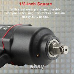 Clé D'impact D'air 1700nm Gun D'impact D'air Composite Twin Hammer 1/2 Sq Drive