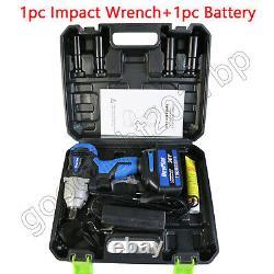 Clé D'impact Sans Fil 1/2 Impact Driver Ratchet Rattle Nut Gun 18v 6.0a Li-ion