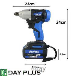 Clé D'impact Sans Fil 1/2 Impact Driver Ratchet Rattle Nut Gun 21v 6.0a Li-ion