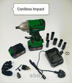 Clé D'impact Sans Fil 6.0a Li-ion 1/2 Impact Drive Ratchet Rattle Nut Gun 20v