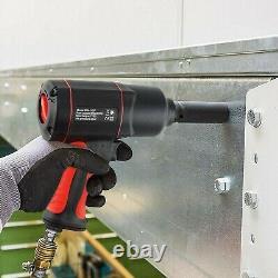 Clé D'impact Sur L'air 1/2, 1700nm Outil De Pistolet À Impact Sur L'air À Double Marteau 1/