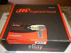 Clé / Pistolet À Percussion 3/4 Entraînement Nib N2 Ir2145qimax Ingersoll Rand Mg325712 1350ftlb