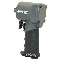 Clé Pour Pistolet À Chocs Pneumatique Aircat 1057-th 1/2 Drive, Compacte