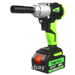 Cordless Electric Impact Wrench Rattle Nut Gun 420nm Li-ion Batterie 1/2'' & 1/4