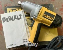 Dewalt Dw294-lx 3/4 Impact De Gun / Clé 110v Gratuit 3 / 4-1 / 2 Prise Réducteur (dw292)