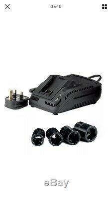 Draper 82983 20v 1/2 D'entraînement Sans Fil Clé À Chocs Gun 2 Batteries Et Chargeur