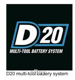 Draper Brushless 20v J20 Nut Gun 1/2 Dr MID Couple Clé À Chocs 400 Nm 2x 4 Ampères