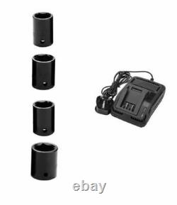 Draper Storm Force 20v Sans Fil 1/2 Clé D'impact 01031 Gun Inc Four Sockets