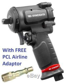 Facom Ns. Clé De Pistolet À Impact Pneumatique 1600f 1/2 Lecteur, 861nm + Raccord Pcl Libre