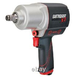 Gun Impact Commercial Grade 1/2 In Pistol Grip Air Wrench 1000' Lbs Composite