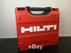 Hilti Siw 22-a 1/2 Percussion Sans Fil Clé D'entraînement Nut Gun 22v Et 2 X Batterie 2,6 Ah