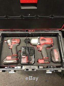Impact De La Batterie De Mac Tools Clé / Set Pistolet