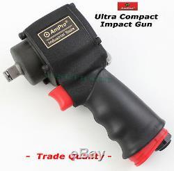 Impact Gun Ultra Compact 1/2 Ampro Trade Tools Air Clé Pneumatique Special