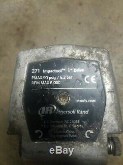 Ingersoll Rand 271 1 Clé Pneumatique Pour Pistolet À Impact Pneumatique, Entraînement De 1 Pouce, Ir