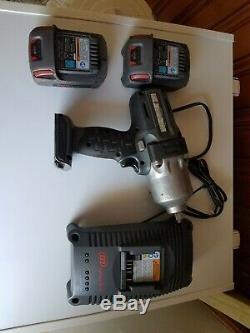 Ingersoll Rand W7150 20v 1/2 Gun Impact Clé 2batteries Bl2010 Et Chargeur