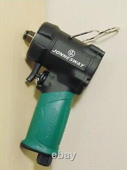 Jonnesway 1/2 Drive Stubby Impact Wrench Jwjai-1014 Compact Rattle Gun 560nm