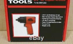 Mac Outils Clé À Chocs 3/8 Entraînement Pistolet À Air Double Hammer (awp538b) Nouveau