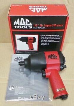 Mac Tools 1/2 À Chocs Clé Pistolet À Air Double Hammer (awp550b) Nouveau