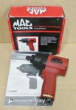 Mac Tools 1/2 Drive Compact Impact Wrench Air Gun Twin Hammer (awp550bc) Nouveau