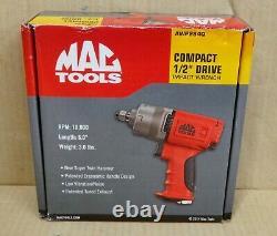 Mac Tools 1/2 Drive Impact Wrench Air Gun Twin Hammer (awp284q) Nouveau 10 000 RPM