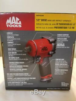 Mac Tools 1/2 Lecteur Stubby Petite Clé À Chocs Awp050m Air Windy Buzz Gun