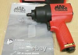 Mac Tools 3/8 Drive Impact Wrench Air Gun Twin Hammer (awp538b) Nouveau