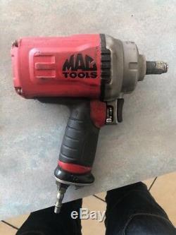 Mac Tools Pistolet À Impact Pneumatique Awp050 Clé 1/2 Titane