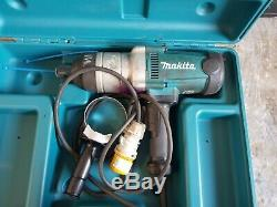 Makita Tw1000 Pistolet À Clé À Chocs À 1 Entraînement 110v Avec Boîte Et Poignée. À Peine Utilisé