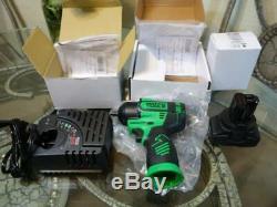 Matco 16v Sans Fil Infinium 3/8 Gun Kit Clé À Chocs Vert 16 Volts