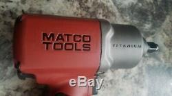 Matco Sur Mesure Mt1769a Titane 1/2 Clé À Chocs Pneumatique Pistolet À Air 2135timax 1/2