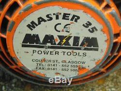 Maxim Master 35 Essence Clé À Chocs Pistolet Ferroviaire Professionnel Écrou Gun