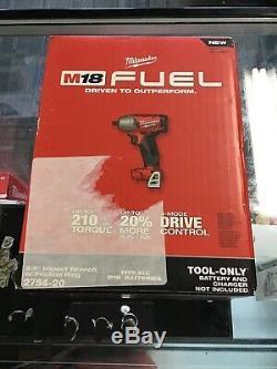 Milwaukee 2754-20 M18 Fuel 3/8 Compact Drive Impact Pistolet Clé Nu Outil Scellé